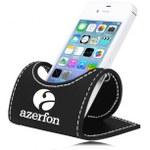 Leather Desk Cell Phone Holder
