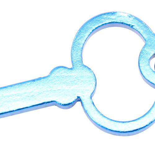 Key Shape Bottle Opener Key Chain Image 9