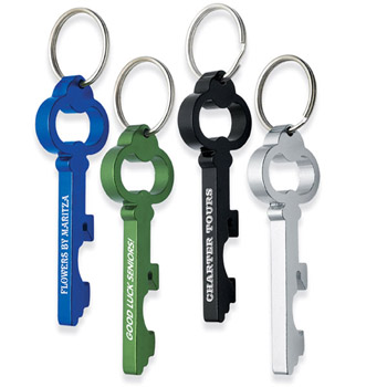 Key Shape Bottle Opener Key Chain
