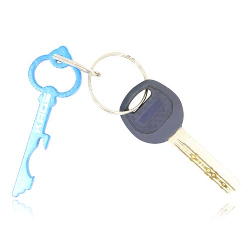 Key Shape Bottle Opener Key Chain Image 3