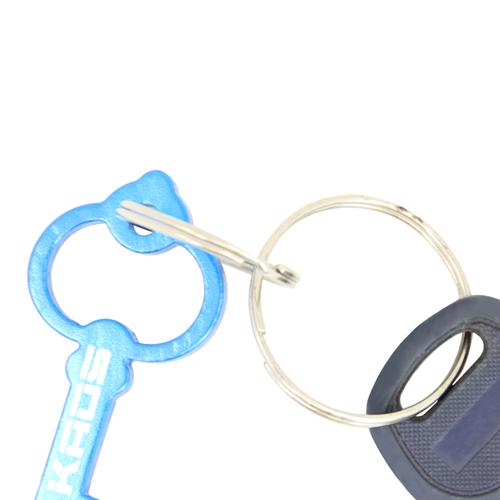 Key Shape Bottle Opener Key Chain Image 7