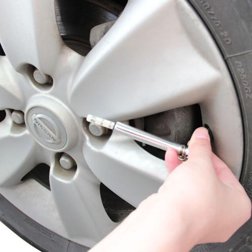 Mini Tire Gauge With Keychain