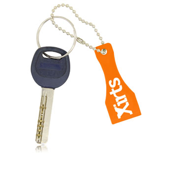 Plastic Lottery Scratcher Key Tag