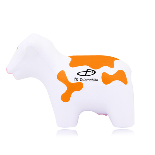 Cow Shaped Stress Reliever