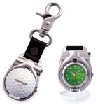 Golf Ball Shape Clip-On Watch
