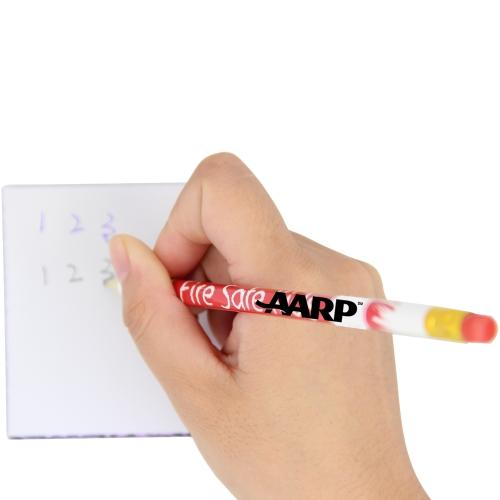 Round Pencil With Eraser