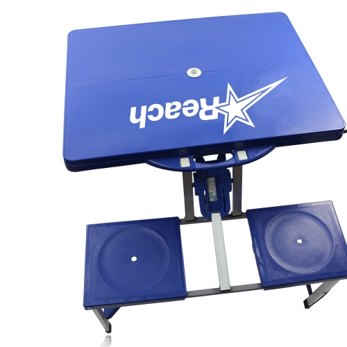 Portable Folding Table For 4 Image 10