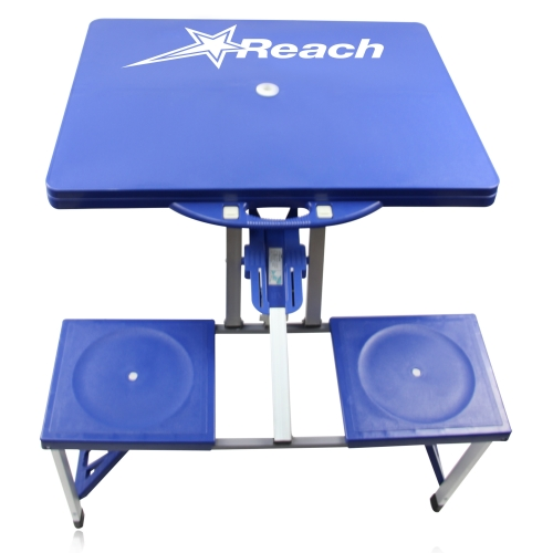 Portable Folding Table For 4 Image 11