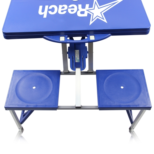 Portable Folding Table For 4 Image 14