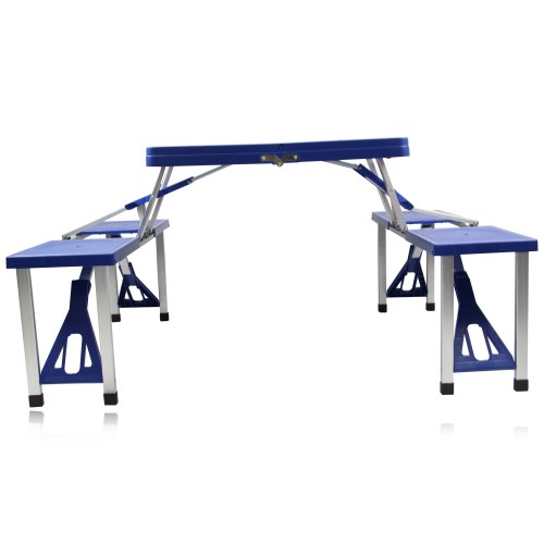 Portable Folding Table For 4 Image 20