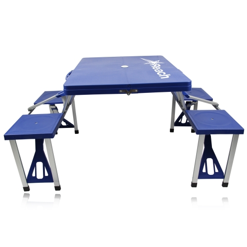 Portable Folding Table For 4 Image 1
