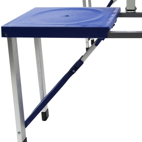 Portable Folding Table For 4 Image 7
