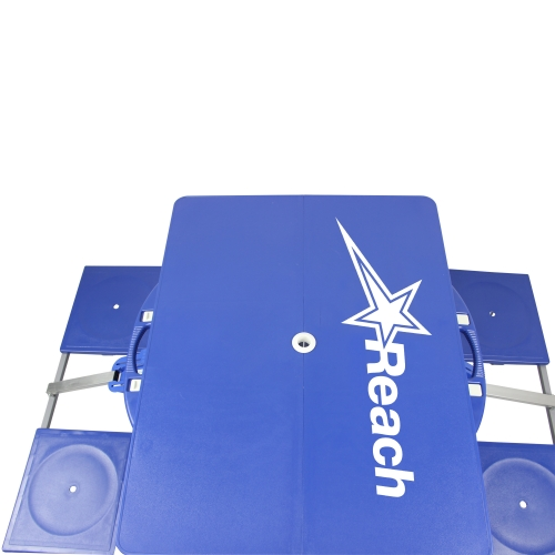 Portable Folding Table For 4 Image 8