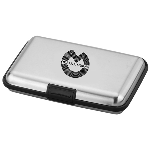 Aluminum Card Wallet Image 1