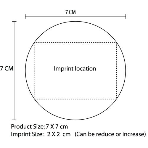 Stylo Plastic Mirror Imprint Image