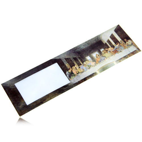 Elegant Rectangle Bookmark Magnifier