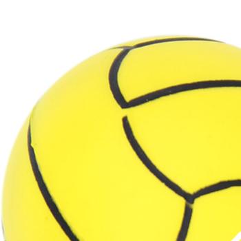 Volleyball Anti Stress Ball Keychain