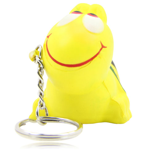 Bee Anti Stress Ball Keychain