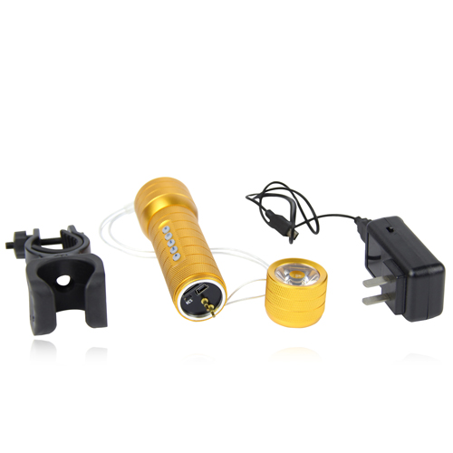 Classy Outdoor Flashlight Speaker