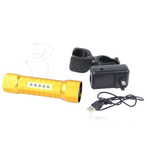 Classy Outdoor Flashlight Speaker