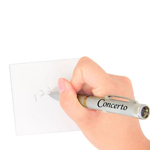 Twist Action Metal Projector Pen