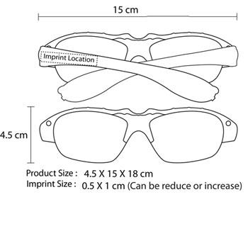 Fashion Light Sunglass With Laser Light