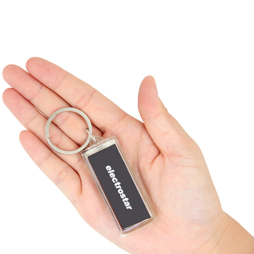 LCD Solar Keychain Keychain Image 3