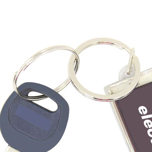 LCD Solar Keychain Keychain Image 5