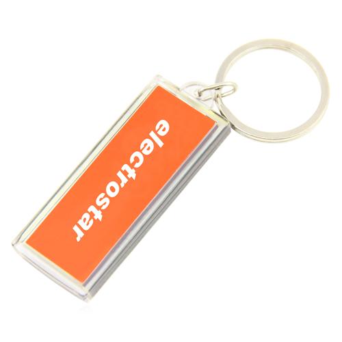 LCD Solar Keychain Keychain Image 7