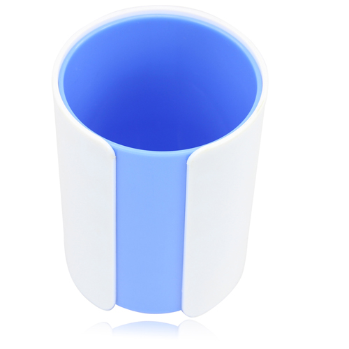 Two Color Pen Cup Image 1