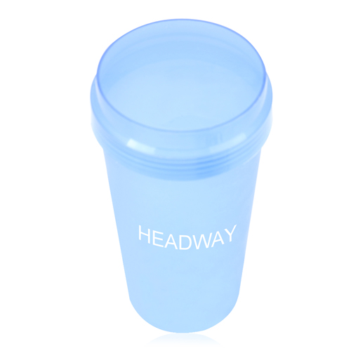 Plastic Cup With Screw Lid Image 1