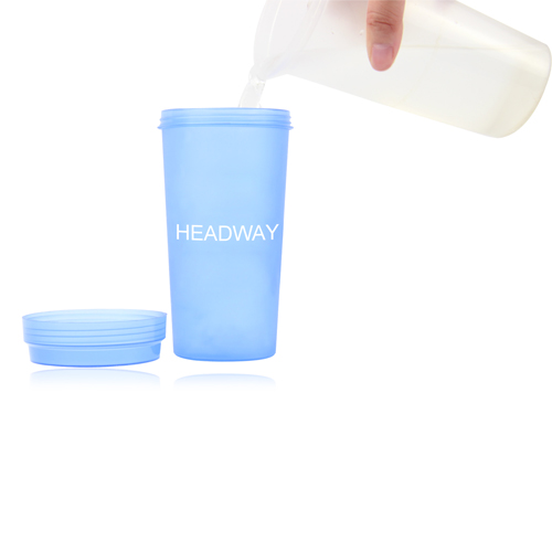 Plastic Cup With Screw Lid Image 3