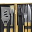 5 Piece Bbq Set In Bamboo Box Image 13