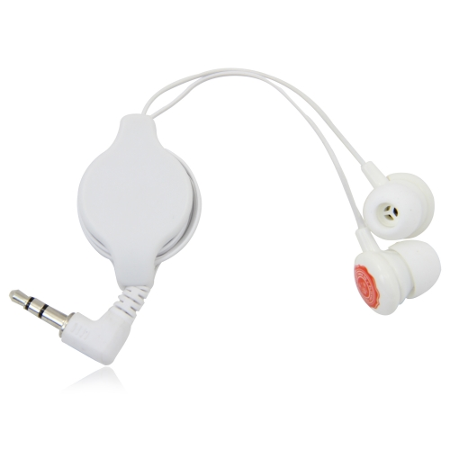 Pull Back Retract Earbud