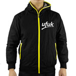 Two Side Fashionable Reversible Hooded Jacket