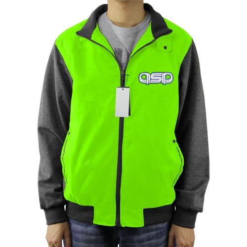 Colorblock Full Zip Jacket Coat