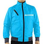 Polyester Shoulder Zipper Pocket Jacket