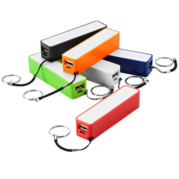 Power Bank Mobile Charger With Keychain