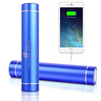 Cylinder USB Emergency Charger Bank