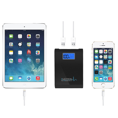 Dual Universal USB Power Bank Charger