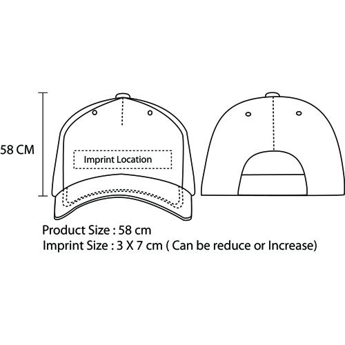 Curved Brim BaseballCap