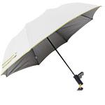 Two Folding Silver Coated Umbrella