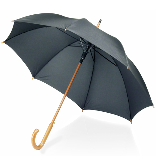 Classic Wooden Handle Umbrella