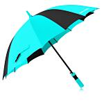 16 Panels Four Color Umbrella