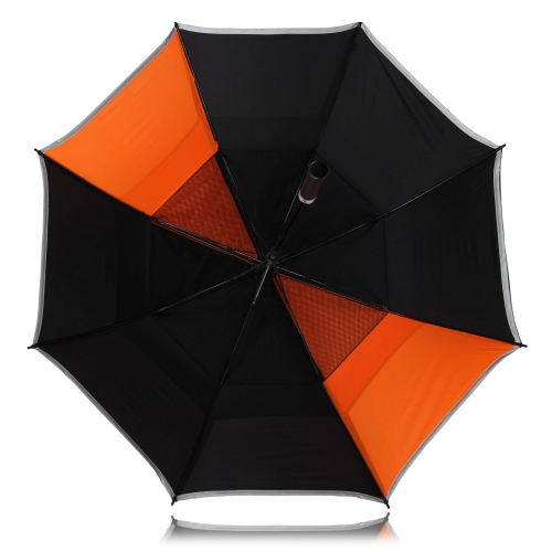 Windproof Golf Umbrella With Gauze Image 15