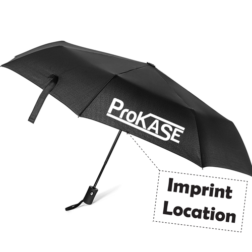 Automatic Open And Close Folding Umbrella Imprint Image