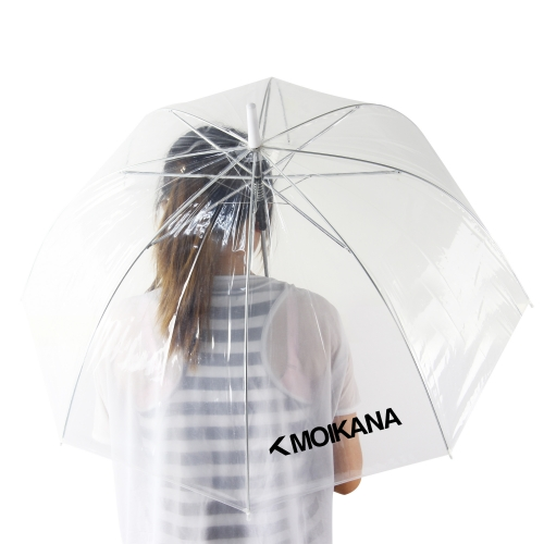 Clear Transparent Umbrella Image 3