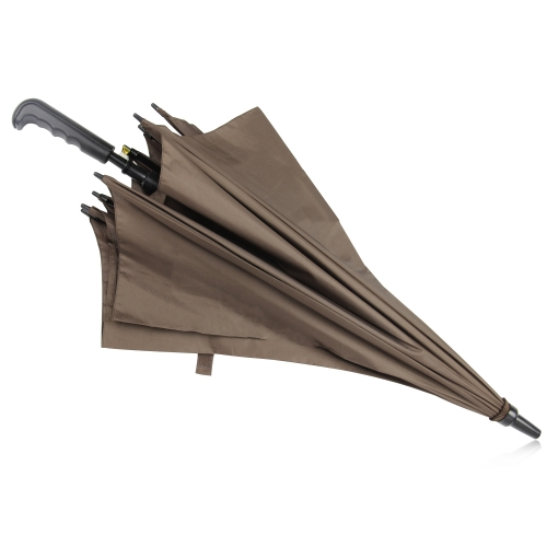 Executive Double Bone Auto-Open Straight Umbrella Image 13