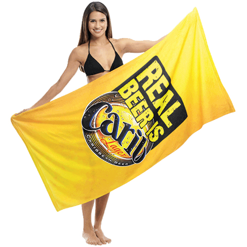 Smooth Cotton Beach Towel