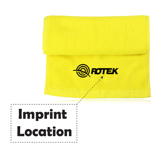 Workout Pretty Cotton Towel Imprint Image